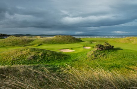 links course in Donegal, Ireland