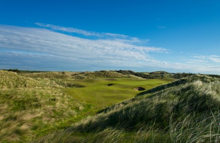 links golf course just north of Dublin