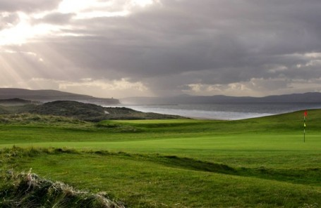 Portstewart Golf Club - 16th green on Strand course
