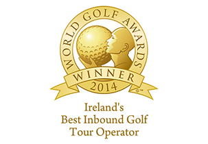 Ireland Best Inbound Golf Tour Operator 2014