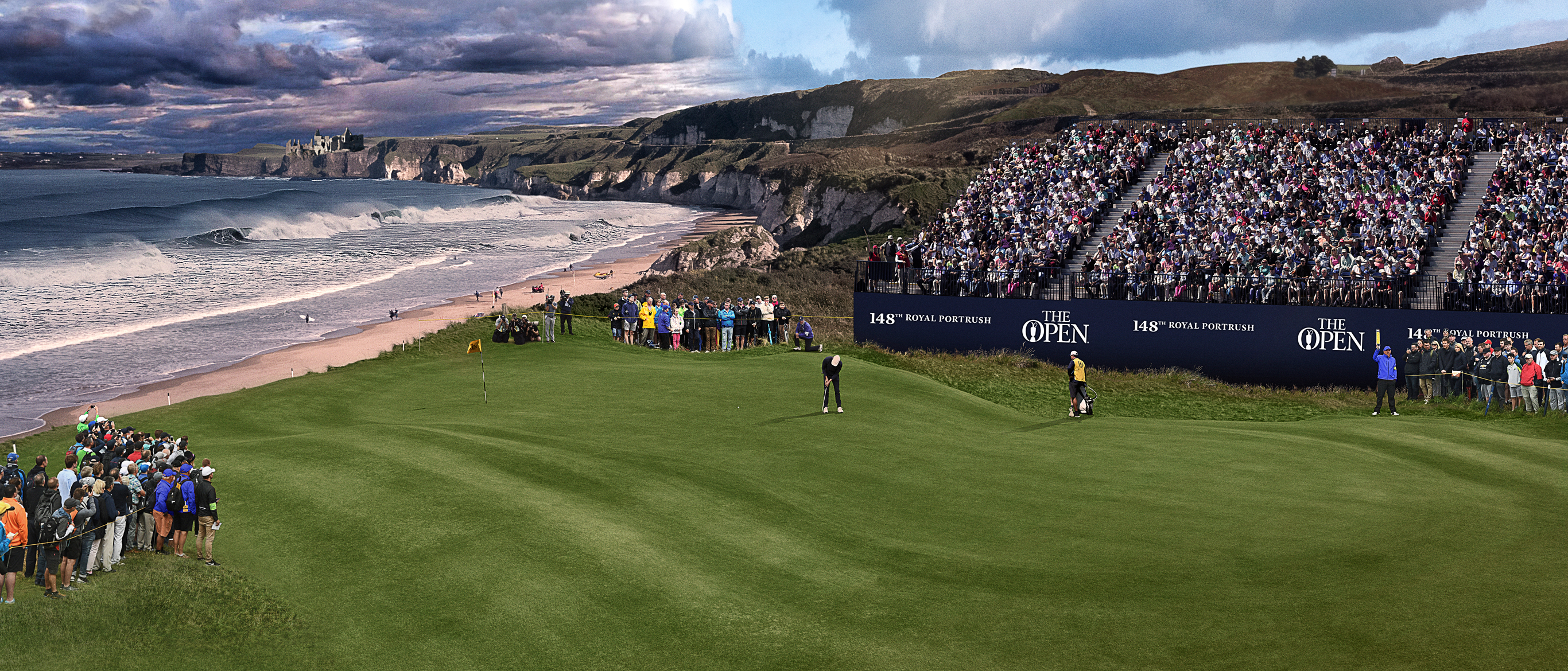 The 148th Open British Open at Royal Portrush